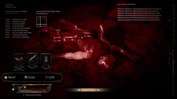 В дополнении с терминатором авторы Mortal Kombat 11 троллят датамайнеров0