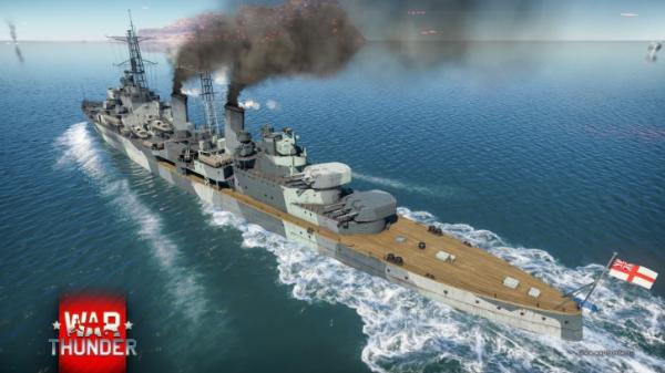 В War Thunder прибыли новые вертолёты, крейсер «Белфаст» и первый шведский самолёт0