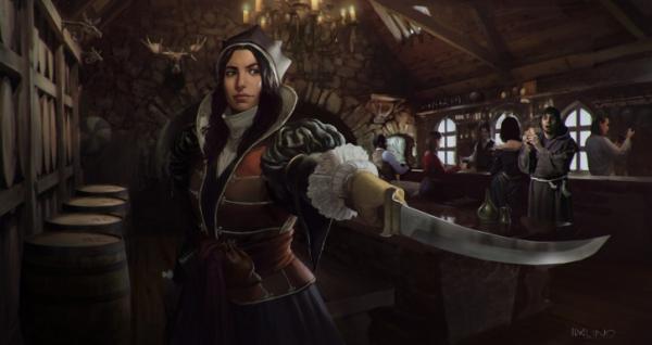 Photo of Ассасинка с лицом Энн Хэтэуэй — возможно, в Сети нашли концепт-арт по Fable IV
