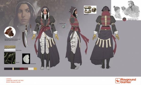 Ассасинка с лицом Энн Хэтэуэй — возможно, в Сети нашли концепт-арт по Fable IV2