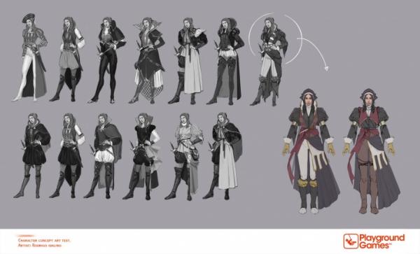Ассасинка с лицом Энн Хэтэуэй — возможно, в Сети нашли концепт-арт по Fable IV1