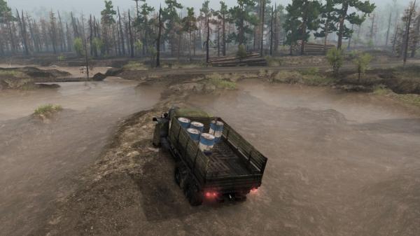 Симулятор покорения бездорожья Spintires получит DLC с Чернобылем5