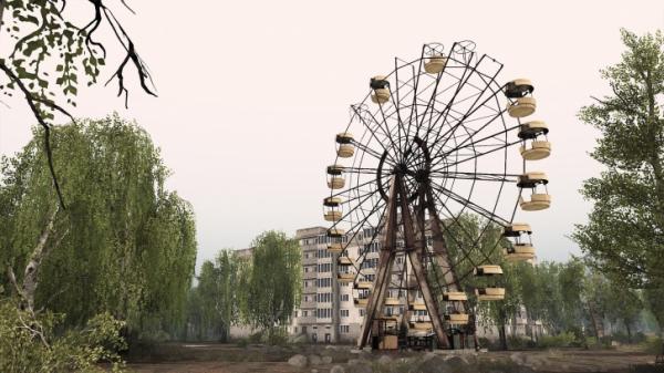 Симулятор покорения бездорожья Spintires получит DLC с Чернобылем3