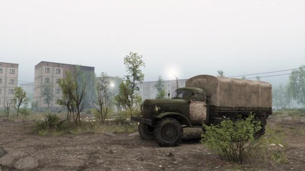 Симулятор покорения бездорожья Spintires получит DLC с Чернобылем7