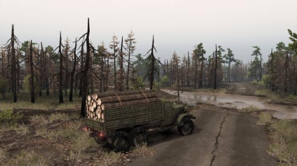 Симулятор покорения бездорожья Spintires получит DLC с Чернобылем6