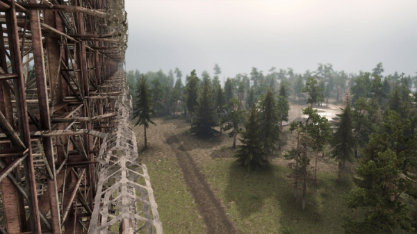 Симулятор покорения бездорожья Spintires получит DLC с Чернобылем1