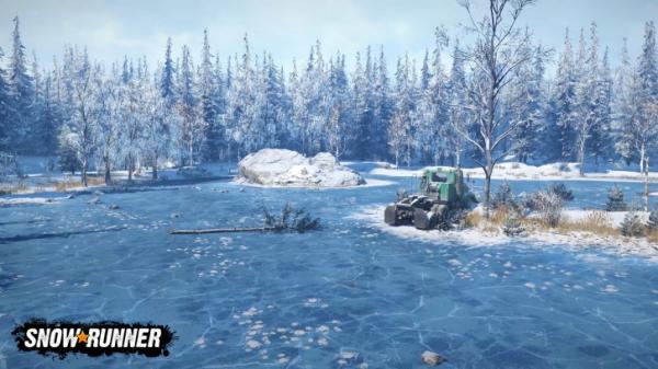 Photo of Заснеженная Аляска на скриншотах из SnowRunner