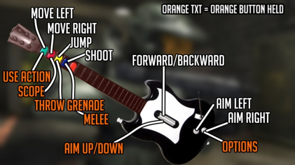 Photo of Игрок прошёл высшую сложность в Halo 3 на гитаре от Guitar Hero