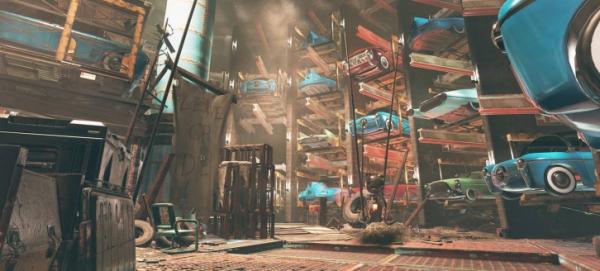 Photo of Пейзажи города будущего из апдейта Wastelanders для Fallout 76