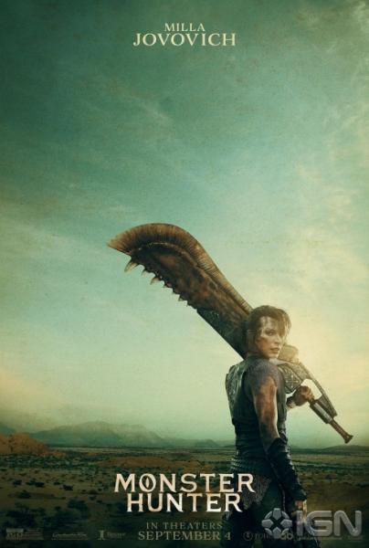 Photo of Постеры фильма по Monster Hunter с Миллой Йовович и Тони Джа